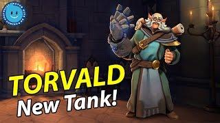 מה דעתכם על דמות הפרונט ליין החדשה (Torvald)?