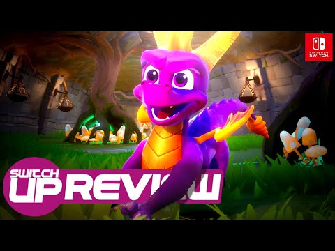 Spyro Reignited Trilogy Switch Review - UNREAL PORT!