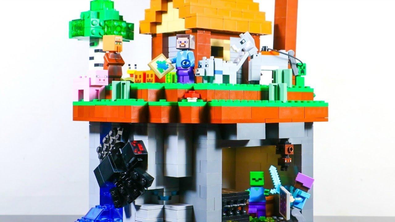 LEGO Minecraft - Two Worlds MOC