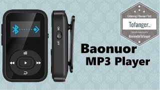 Baonuor X26 Aesthetic Edition: Mp3 Player Mini Format For Sportsmen