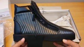 JORDAN BRAND GAME OVER! Unboxing Giuseppe Zanotti Anthracite Ribbed Azuki High-Tops Sneakers