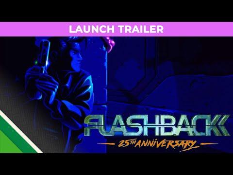 FLASHBACK Launch Trailer - Nintendo Switch thumbnail
