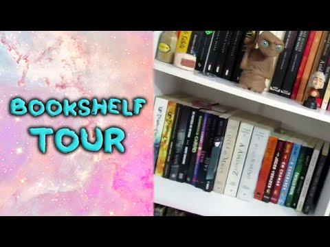Bookshelf Tour!!!!