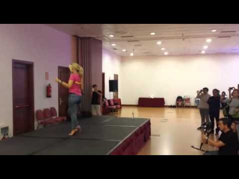 Carolina Fajardo INTERNATIONAL KIZOMBA OPEN 2014