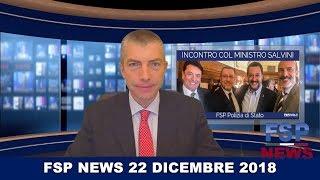 FSP News del 22 dicembre 2018