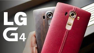 LG G4: Análisis de Características (en Español)