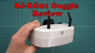 SJ-RG01 FPV Goggles Review