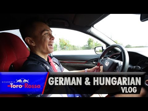 Alex Albon's German & Hungarian GP Vlog