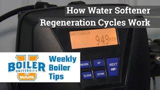 How Water Softener Regeneration Works - Weekly Boiler Tips