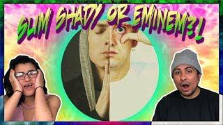 How is Em not a BARtender?! Get it? No?....K I'll stop | Eminem - Evil Twin (Lyrics) REACTION