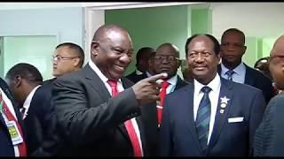 Official  Opening  Of Marobathota High School And Evelyn Lekganyane Clinic In Moria