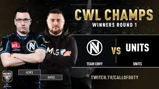 Team Envy vs UNITS | CWL Champs 2019 | Day 3