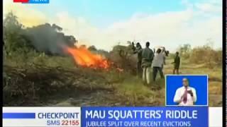 Mau forest evictions continue despite political turmoil
