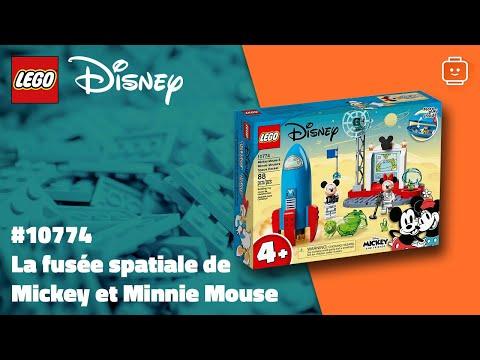 Vidéo LEGO Disney 10774 : Mickey & ses amis : La fusée spatiale de Mickey Mouse et Minnie Mouse