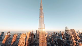 Diving the Tallest Building in the World - Burj Khalifa FPV