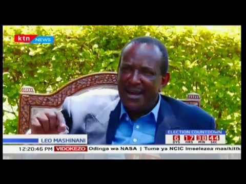 Mgombea huru wa urais Joe Nyagah awahimiza Uhuru Kenyatta na Raila Odinga kuzungumza