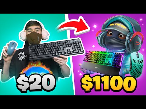 $20 VS $1100 Setup (PAY TO WIN)