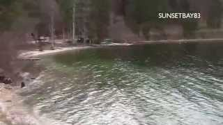 preview picture of video 'Lake Bled (Slovenia) in winter'