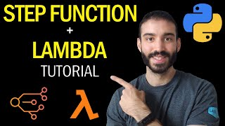 AWS Step Functions with Lambda Tutorial in Python | Step by Step Guide