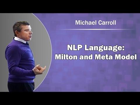 NLP Language, Milton and Meta Model