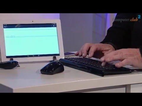Maus und Tastatur für den Tablet PC