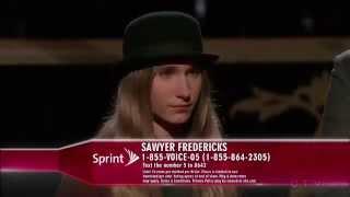 "Sawyer Fredericks - Semifinals "" You"