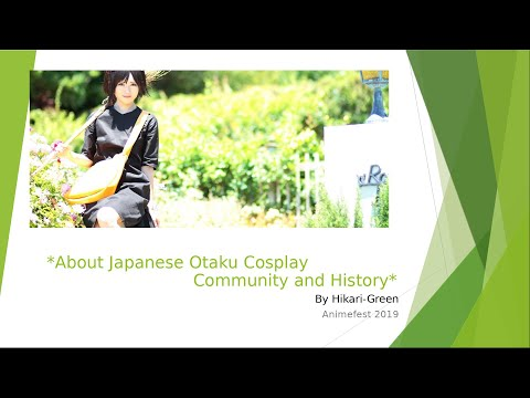 Cosplay and Otaku history in Japan