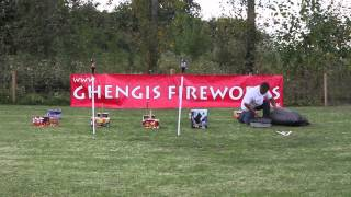 How to setup your own firework displays