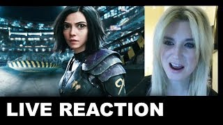 Alita Battle Angel Trailer 3 REACTION