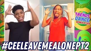 Leave Me Alone Challenge Dance Compilation 🔥 #CeeLeavemealonept2