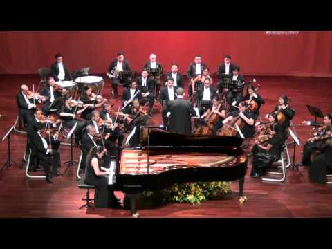 L. V. Beethoven: Piano Concerto n.3, mvt III (Guatemala City, conductor Ricardo del Carmen Fortuny, Orquesta Festival)