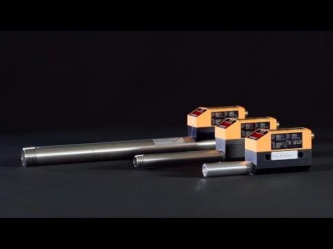 Caudalímetro térmico con IO-Link para máquina herramienta