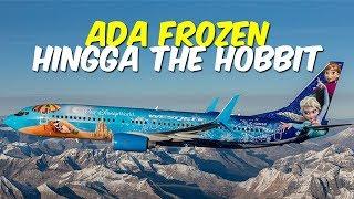 5 Pesawat Paling Berwarna di Dunia, Bertema Tokoh Kartun Hello Kitty hingga Film The Hobbit