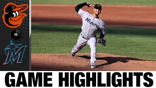 Brian Anderson's Solo Home Run Lifts Marlins | Orioles-Marlins Game Highlights 8/5/20