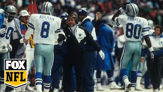 Troy Aikman on Jimmy Johnson being voted into HOF: 'He's gonna look real good in gold' | FOX NFL