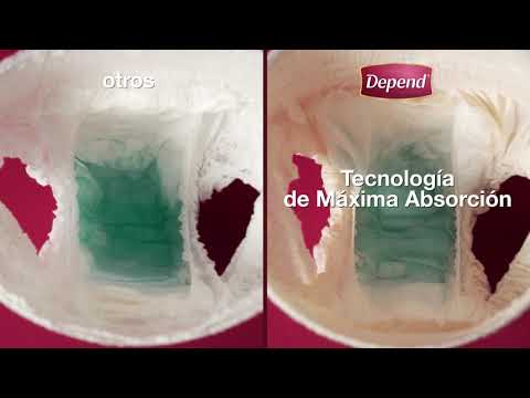 Caja De Depend® Ropa Interior Skin Care Mediano 8 paquetes Youtube Video