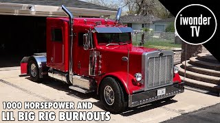 The Smallest Mini Truck Youll Ever See Doing Big Burnouts | Custom Lil Big Rig