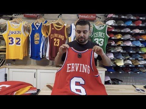 100% authentic 98d71 398d3 Julius Erving #6 Philadelphia 76ers Vintage Throwback ...