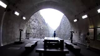 犬と旅行ペットと観光新潟県清津峡渓谷トンネル