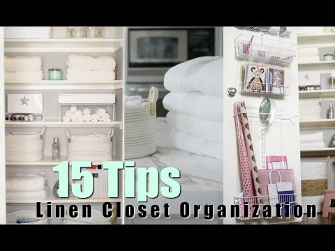 15 Tips For Organizing Your Linen Closet! MissLizHeart Mp3