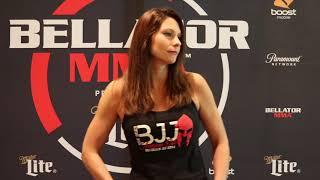 "Bellator 201: Kristina ""Warhorse"" Williams On Fighting Valerie Letourneau, Quick Rise in MMA"