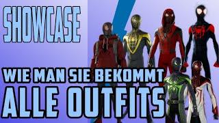 Marvel's Spider-Man Miles Morales - Alle Outfits - Wie man sie bekommt - Wie sie aussehen