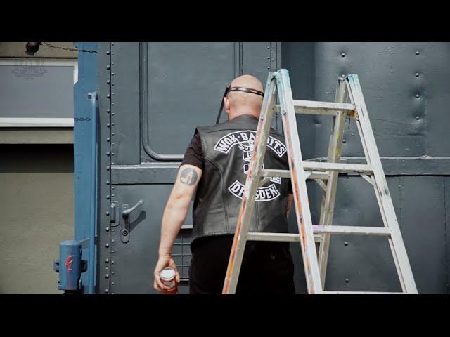 TASTE paints the MOLOTOW TRAIN