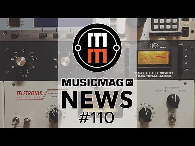 MUSICMAG TV NEWS #110: Компрессоры от Ули, аудиоинтерфейс «для девочек» и др.