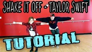 SHAKE IT OFF - Taylor Swift Dance TUTORIAL | @MattSteffanina ft 11 y/o Taylor Hatala