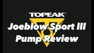 Topeak Joeblow Sport 3 Track Pump 2 year Review - Could this last 2 years???