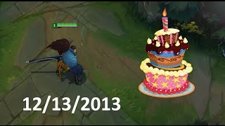 LoL Best Moments #125 Happy birthday Yasuo (League of Legends)