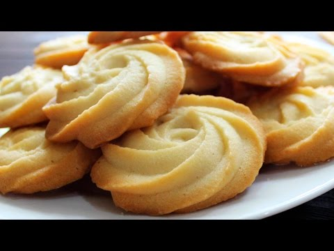 MELTING MOMENTS Cookies Recipe – Eggless Butter Cookies From Scratch – Tasty Cooking