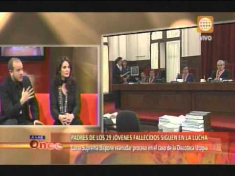 A las Once - Se reanuda proceso del caso de la discoteca Utopía - 08/07/13