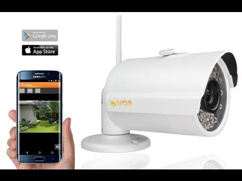LUPUSNET HD - LE201 WLAN IP Kamera - Schnellinstallation (Erklärvideo)